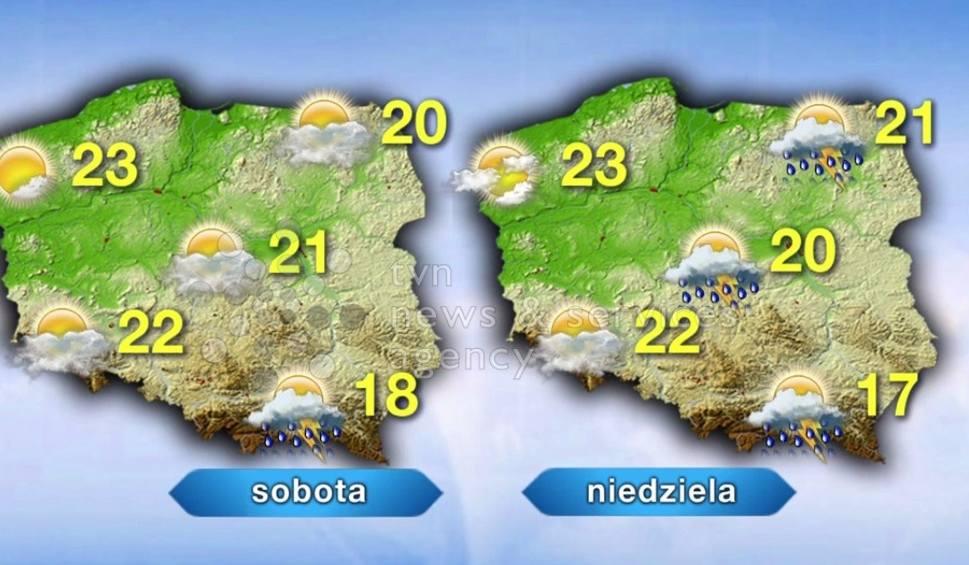 Film do artykułu: Pogoda na weekend w Szczecinie. Będzie pięknie!
