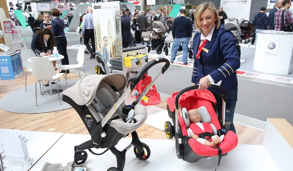 Film do artykułu: Wózki dla dzieci jak... porshe. Hity targów w Kielcach (WIDEO, zdjęcia)