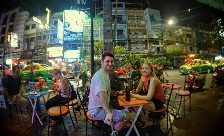Bangkok to pierwszy dłuższy przystanek na trasie podróży pary młodych bełchatowian, którzy w ten sposób realizują marzenia