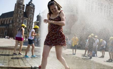 Wysokich temperatur w Krakowie możemy się spodziewać co najmniej do piątku