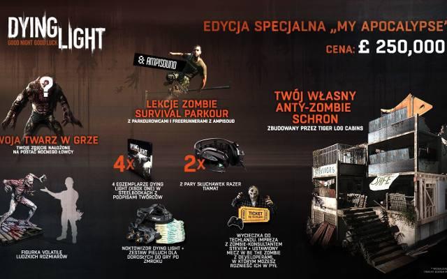 Dying Light: Edycja kolekcjonerska za... 250 000 funtów