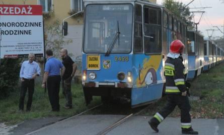 Wypadek cysterny i tramwaju na Kosmonautów
