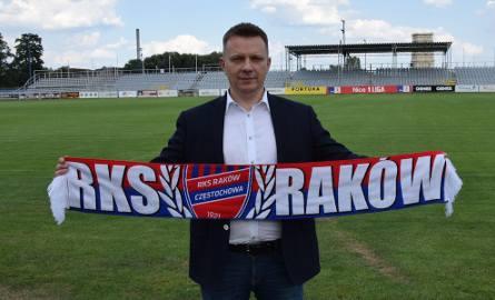 Prezes Rakowa Janusz Żyła.
