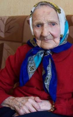 Anna Kubat (1906-2012).