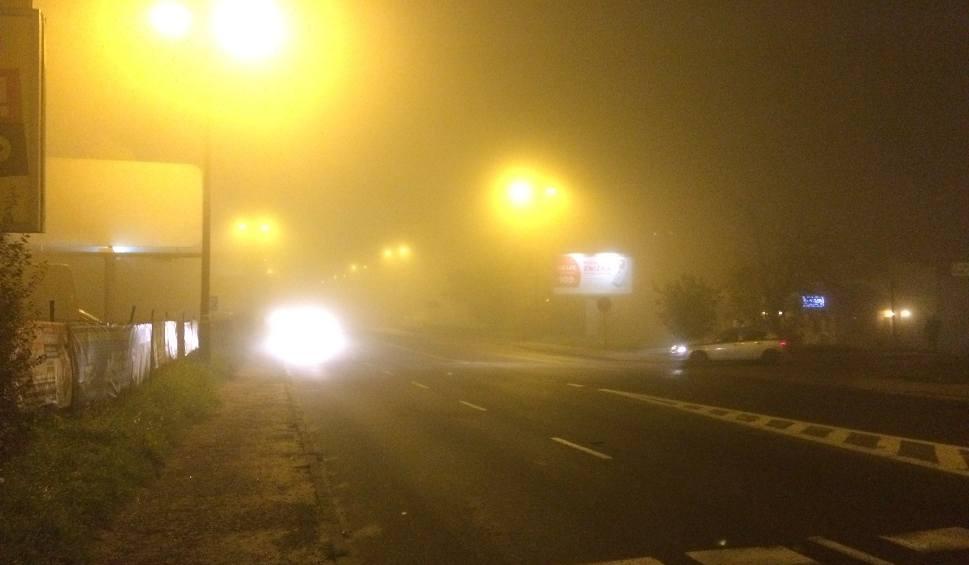 Film do artykułu: Silna mgła w woj. śląskim. Widoczność jest coraz słabsza