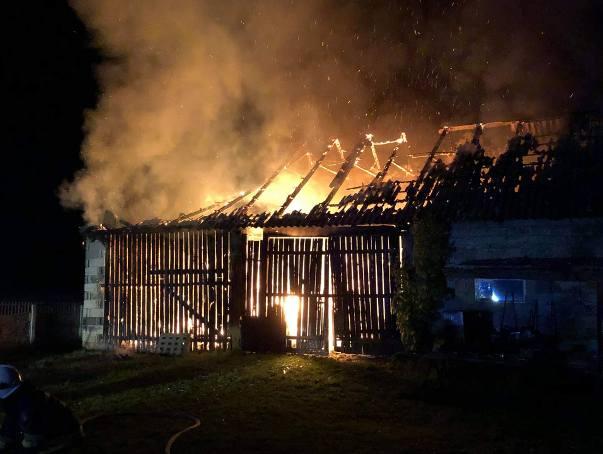 Tragiczna śmierć strażaka ochotnika z Woli Jachowej. W trakcie akcji w Radlinie wybuchła butla z acetylenem