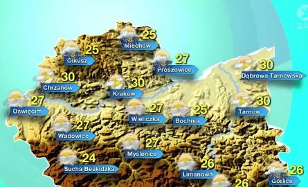 Pogoda na niedzielę, 29 maja
