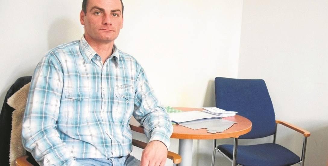 Bardzo ucierpiałem na tym zdarzeniu, doznałem strat fizycznych i psychicznych - mówi pan Tomasz