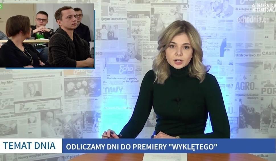 """Film do artykułu: Autem w słup - pół Kielc zablokowane, premiera """"Wyklętego"""" tuż tuż [WIADOMOŚCI]"""