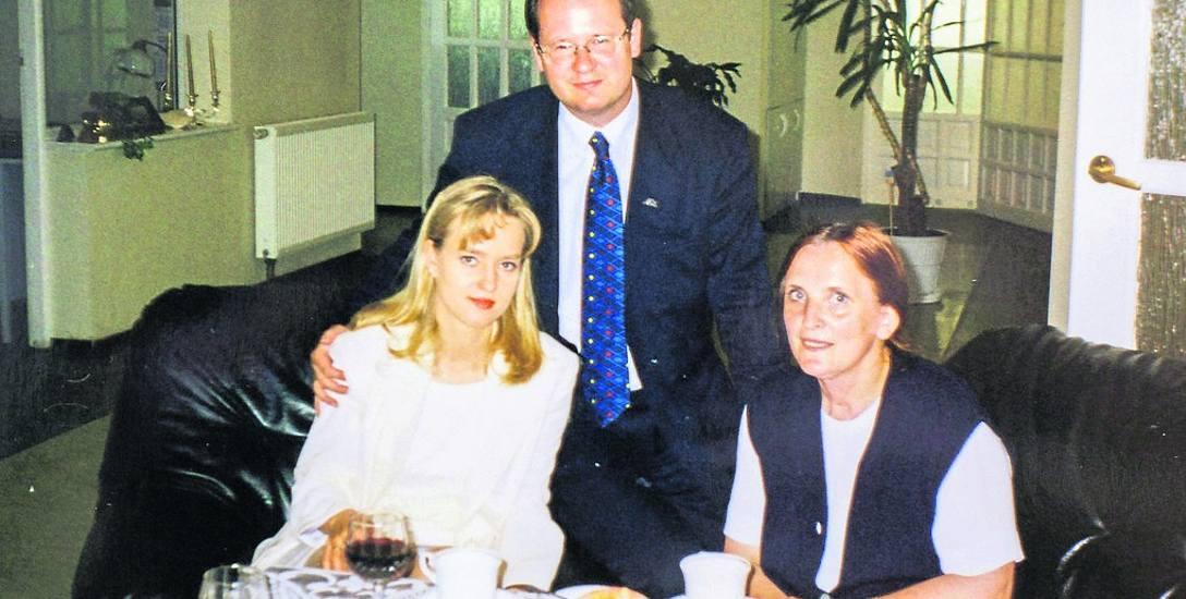 Magdalena i Paweł Adamowiczowie odwiedzili słupskie hospicjum zaraz po swoim ślubie. Przyjechali tam z pieniężnym prezentem