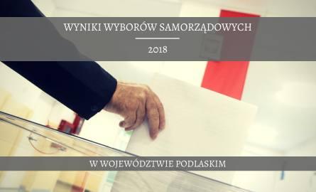 Wyniki wyborów samorządowych 2018 w województwie podlaskim. Oficjalne dane PKW w regionie na dzień 22 października. Sprawdź, gdzie będzie druga tura.