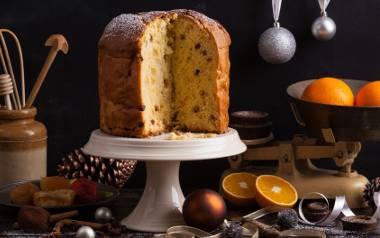 Na Półwyspie  Apenińskim na Boże Narodzenie przygotowuje się panettone – specjalne ciasto, którego niezbędnym składnikiem są bakalie.