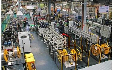 maflow torun ruszyć ma pełną parą już po wakacjach. A tak wygląda fabryka Maflow Tychy.