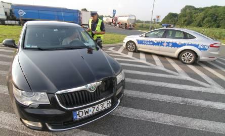 Rozbita skoda wojewody. Auto miało wypadek na S8 (ZDJĘCIA)
