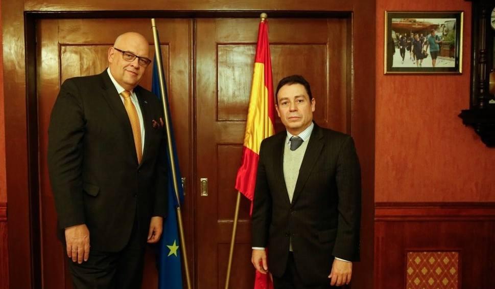 Film do artykułu: Ambasador Hiszpanii Francisco Javier Sanabria Valderrama z wizytą na Pomorzu [zdjęcia]