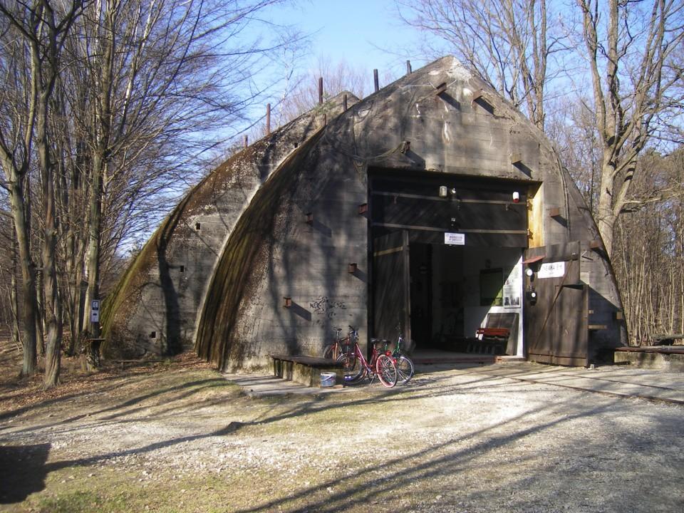 Bunkier w Konewce służył za miejsce postoju pociągu sztabowego