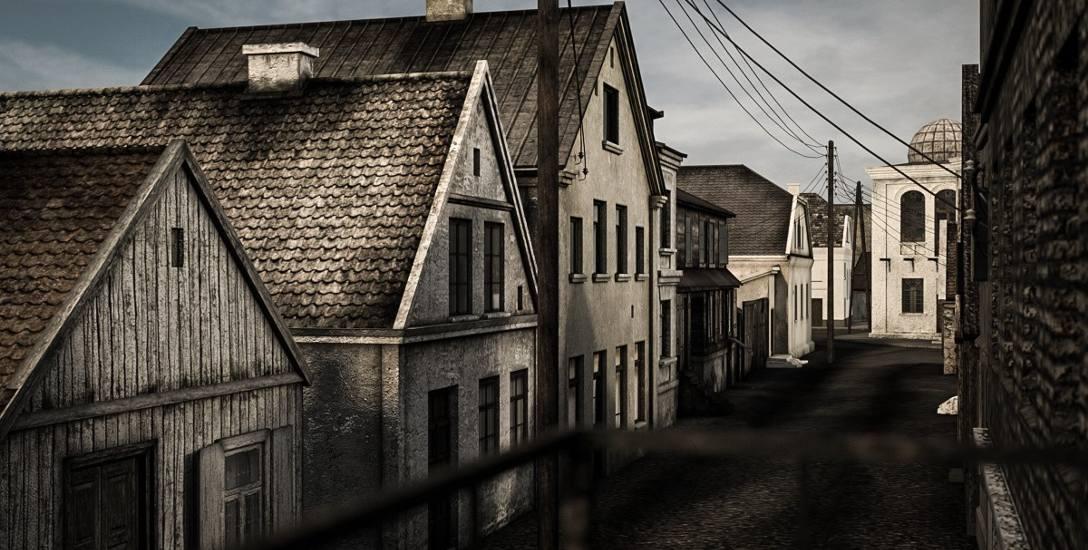 Adrian Górynowicz odtworzył Chanajki. Wirtualnie. Teraz cały świat ujrzy historyczne osiedle Białegostoku