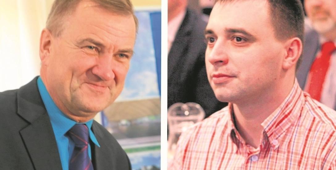 Rafał Kmak (z prawej) będzie domagać się w sądzie przeprosin od Bernarda Stawiarskiego (z lewej) i wpłaty 10 tys. zł na cel charytatywny