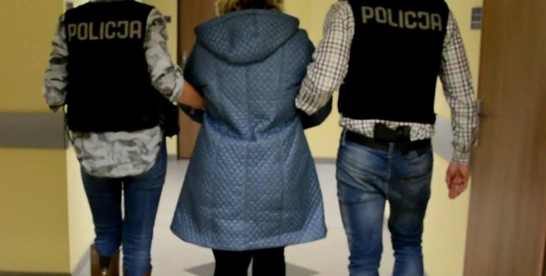 Ewa D. została zatrzymana w lutym tego roku przez poznańskich policjantów