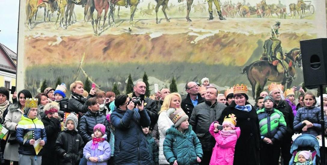 Mural z generałem Józefem Bemem w roli głównej przy ulicy Wałowej szybko stał się wielką atrakcją turystyczną Tarnowa