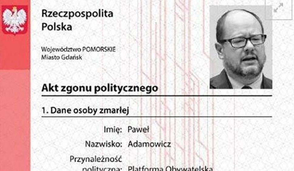 Film do artykułu: Polityczny akt zgonu dla prezydenta Gdańska Pawła Adamowicza. Jego autorzy i prokuratura nie widzą w tym nic złego
