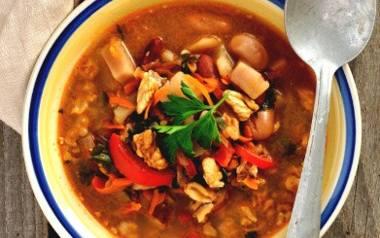 Pożywna zupa z soczewicy.