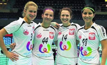 Reprezentantki Polski 2015 - od lewej: Kinga Bugajska, Weronika Noga, Honorata Biały i Elżbieta Piotrowska