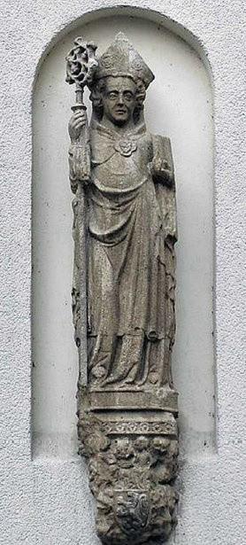 Rzeźba Św. Ottona.