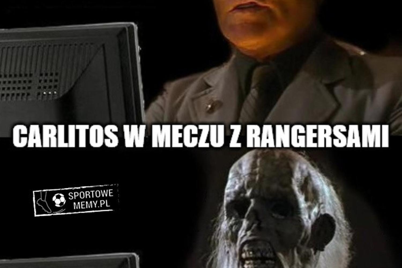 Memy po meczu Legia - Rangers: Carlitos nadal czeka