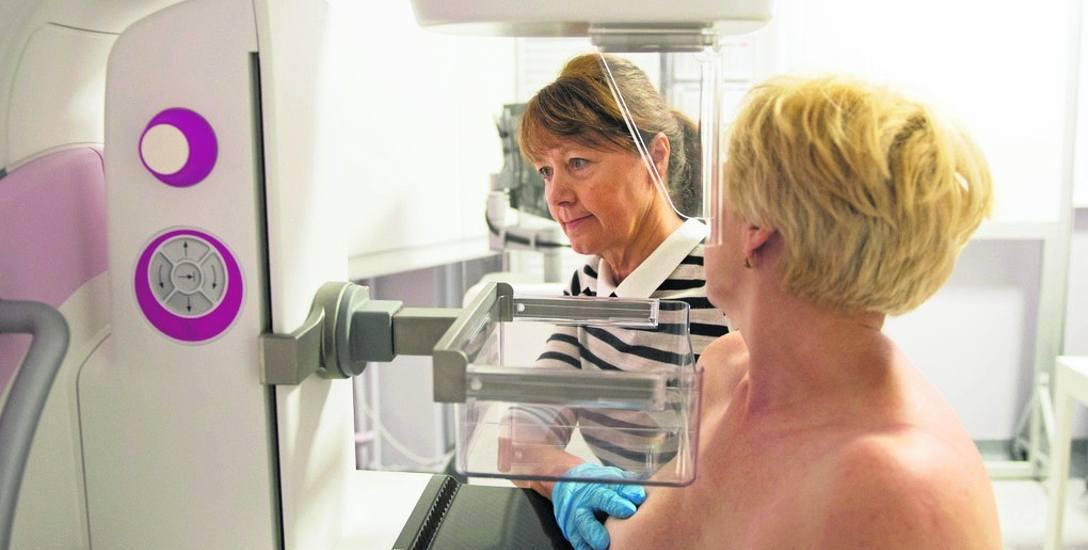 Badania, takie jak mammografia, pozwalają na czas wykryć raka piersi i uratować życie