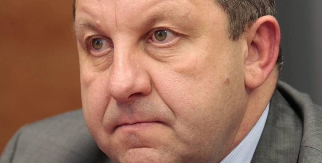 Henryk Wróbel, wójt gminy Dobrzeń Wielki.