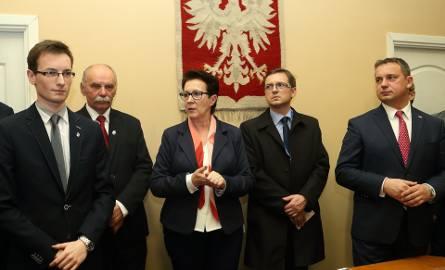 Zbigniew Ziemba (z prawej), według PGE GiEK ma kompetencje do stanowiska wiceprezesa PEC Bełchatów, ale nie ma ich według bełchatowskiego magistratu,