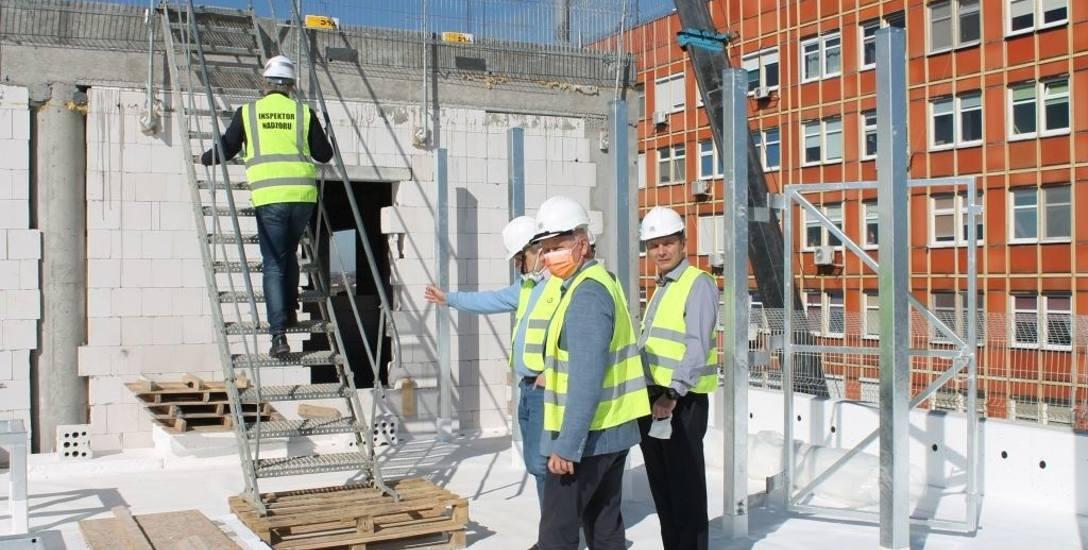 Budynek OIOM-u ma być ukończony w 2021 r.