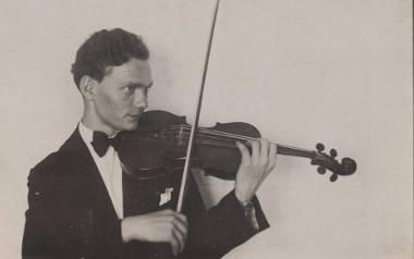 Alfred Tasarek pięknie grał na skrzypcach. Ukochany instrument stracił wkrótce po wybuchu wojny, we wrześniu 1939.