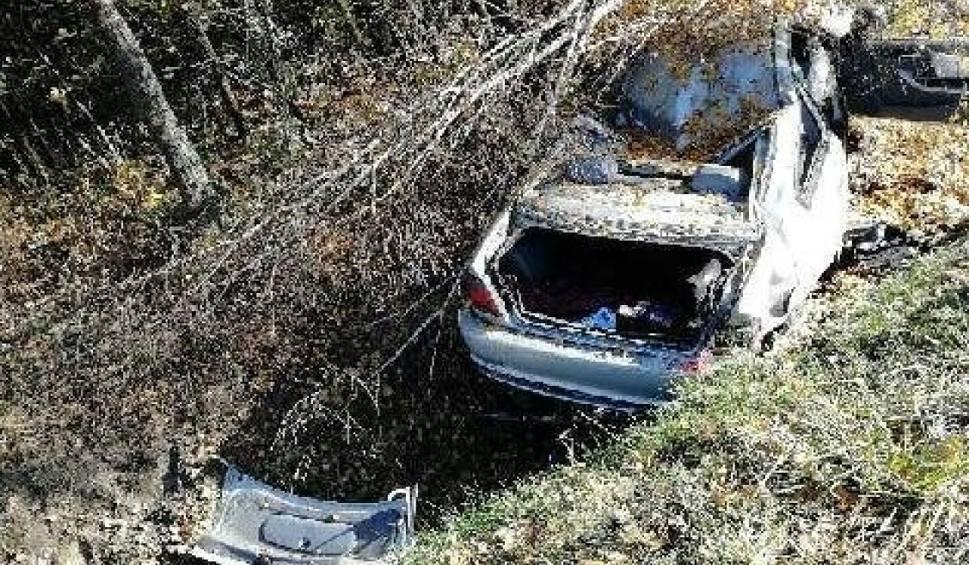 Film do artykułu: Śmiertelny wypadek w Komaszycach Starych. Zginęła kierująca BMW