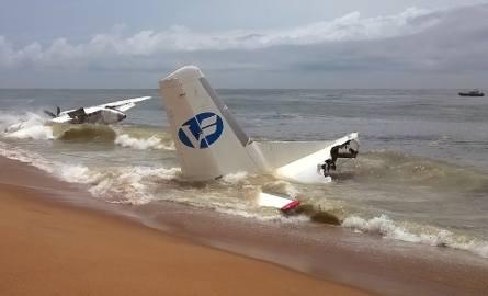 Wybrzeże Kości Słoniowej: Katastrofa lotnicza. Samolot towarowy runął do morza po starcie z Abidżanu
