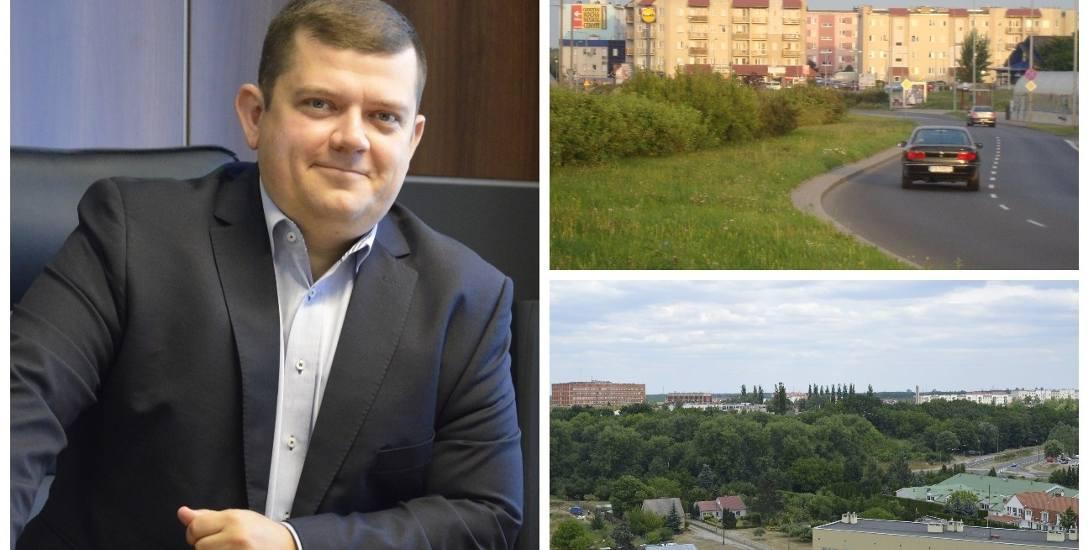 Jacek Wójcicki tłumaczy, że obwodnica zacznie się na Górczynie i potem przetnie os. Piaski