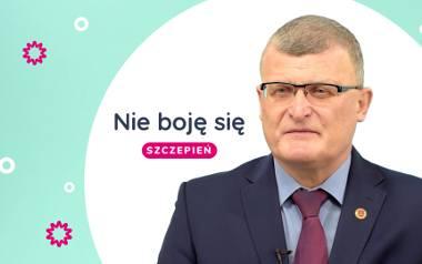 Nie boję się szczepień - mówi Paweł Grzesiowski i odpowiada na najczęstsze pytania na temat szczepień na COVID-19