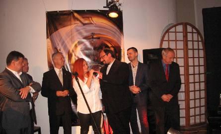 Wystawę otworzyła Beata Drozdowska.