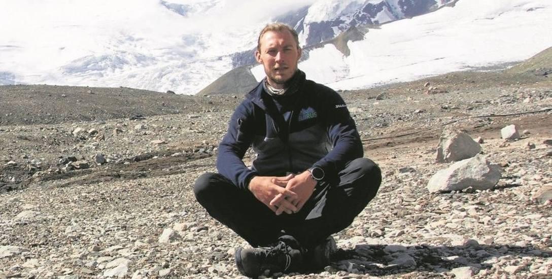 Michał Leksiński (na zdjęciu z wyprawy na Pik Lenina): -  Za miesiąc znów przymierzę  się do zdobycia Denali