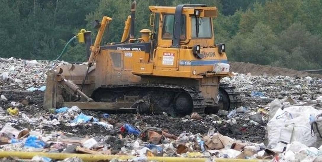 Śmieci z Częstochowy są wywożone na wysypisko w Młynku Sobuczynie