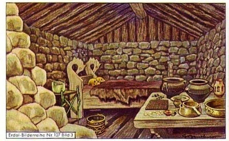 Hipotetyczne wnętrze grobu zakrzowskiego