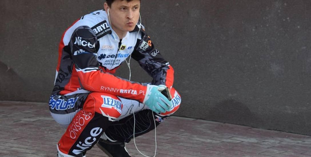 Andriej Karpow dobrze czuje się w krośnieńskim zespole