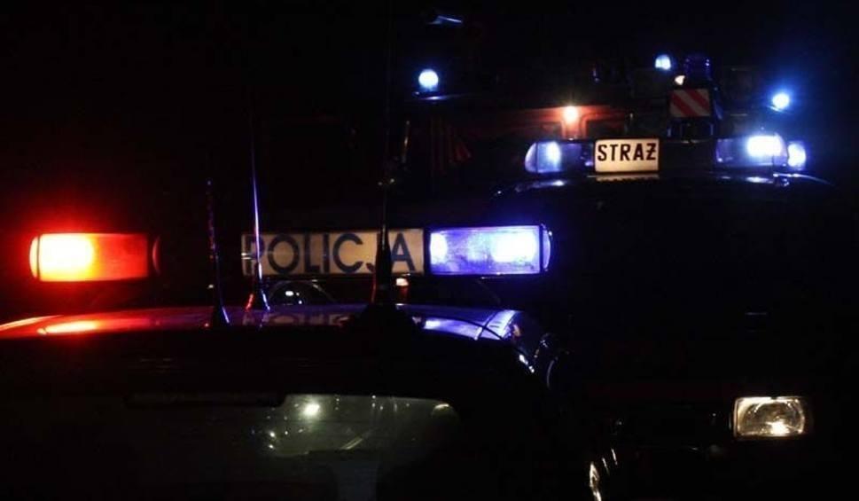 Film do artykułu: Nocna kolizja w Paśmiechach. Samochód w rowie, kierowca pijany