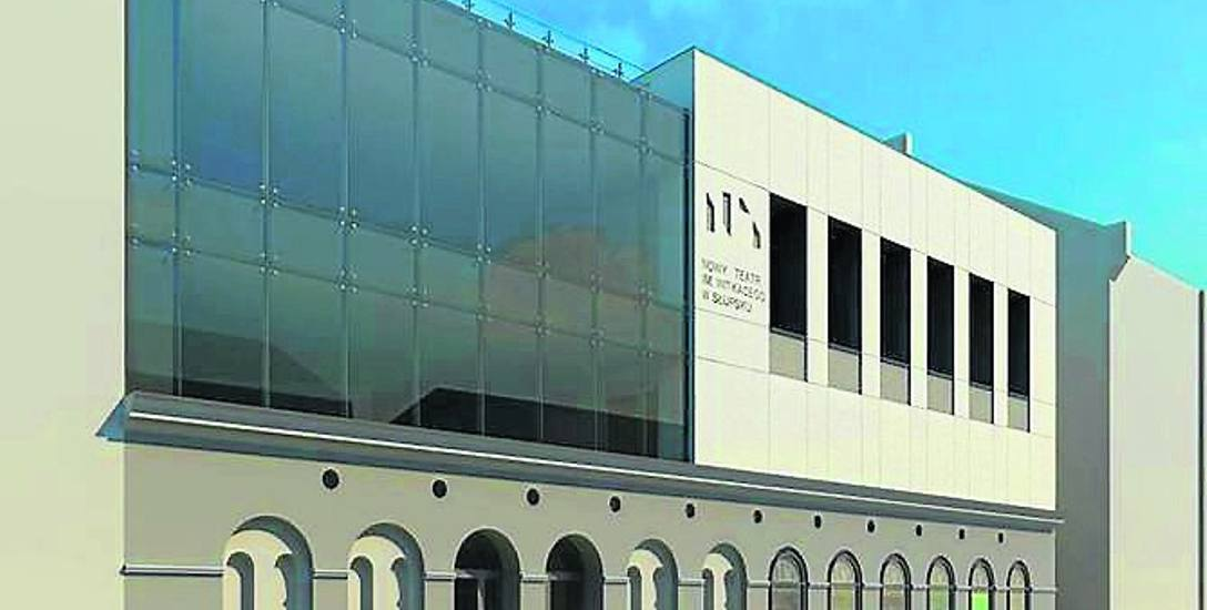 Wizualizacja nowej siedziby Nowego Teatru już jest. Urząd liczy, że obiekt stanie przed sezonem zimowym 2018/2019 r.