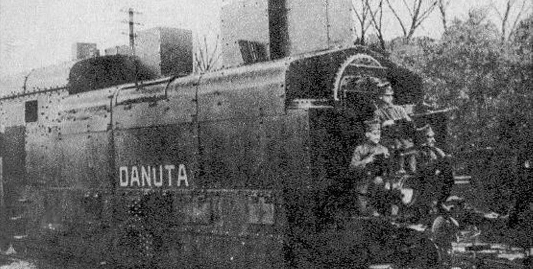 Pociąg pancerny powstańców wielkopolskich Danuta w 1919 roku.