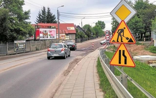 8b537086224fcf Ul. Białostocka: Budowa ronda przy ul. Jurowieckiej opóźniona przez ulewy