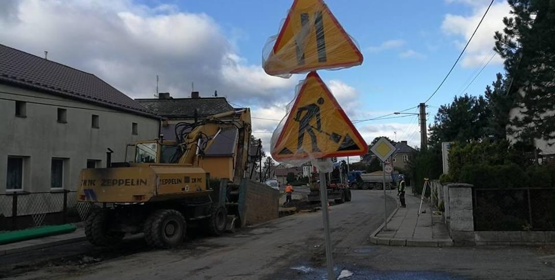 Droga wojewódzka 419 w przygranicznych Branicach ma być przebudowana do września przyszłego roku.