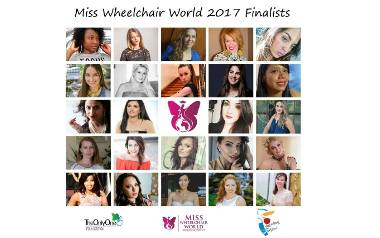 Finalistki Miss Wheelchair World 2017 wybrane!