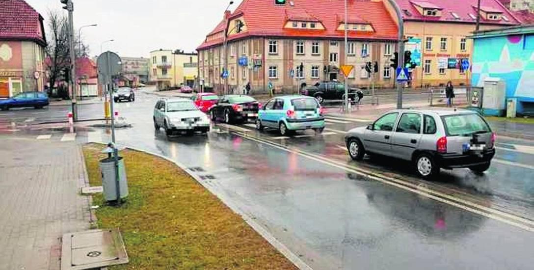 Kierowca proponuje korektę układu sygnalizacji świetlnej